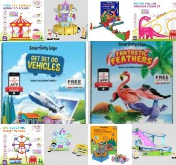 Newztabloid-Newzsnips-Tushar Amin-Smartivity-STEM-Carousel-Dominoes-Dragon-Ferris-smash-topple