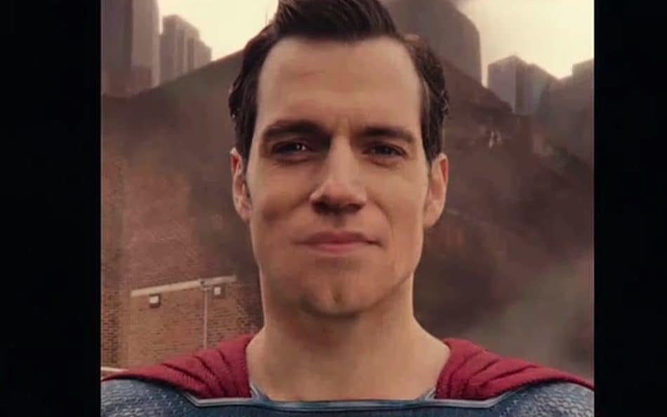 Superman CGI Mouth