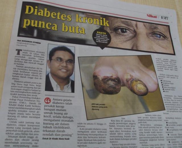Image result for keratan akhbar penyakit terkini