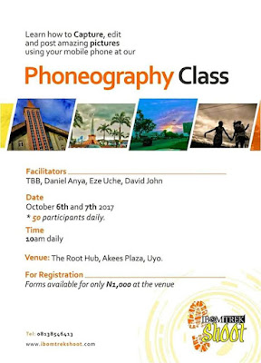 PHONEOGRAPHY CLASS SET TO HOLD IN UYO