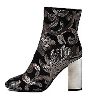 River Island Sequin Embroidered Boots