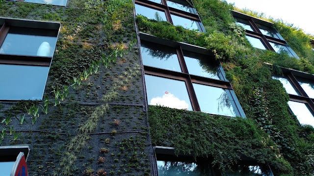 Jardín vertical Museo Paris