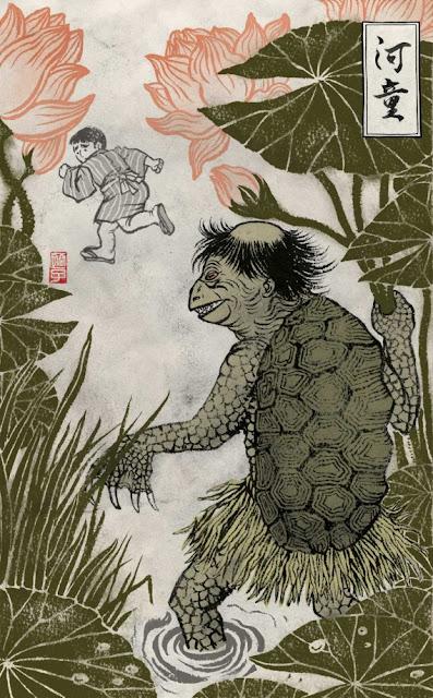 Makhluk Misterius Penghuni Sungai Jepang