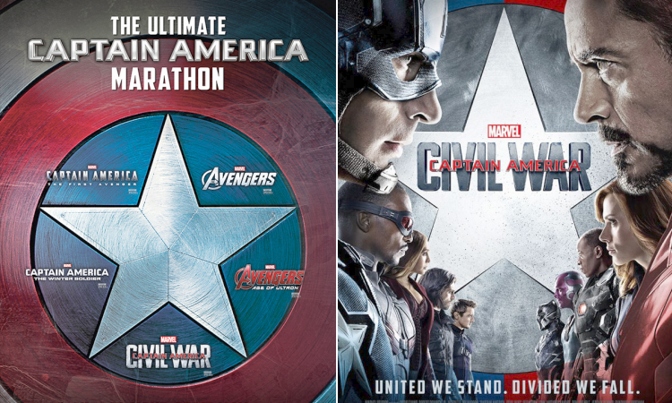Captain America Civil War Movie marathon