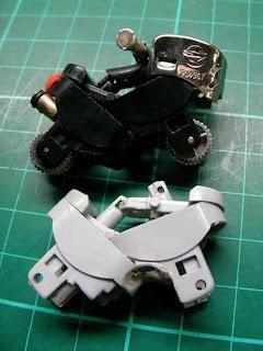 mini motos hechas con encendedores