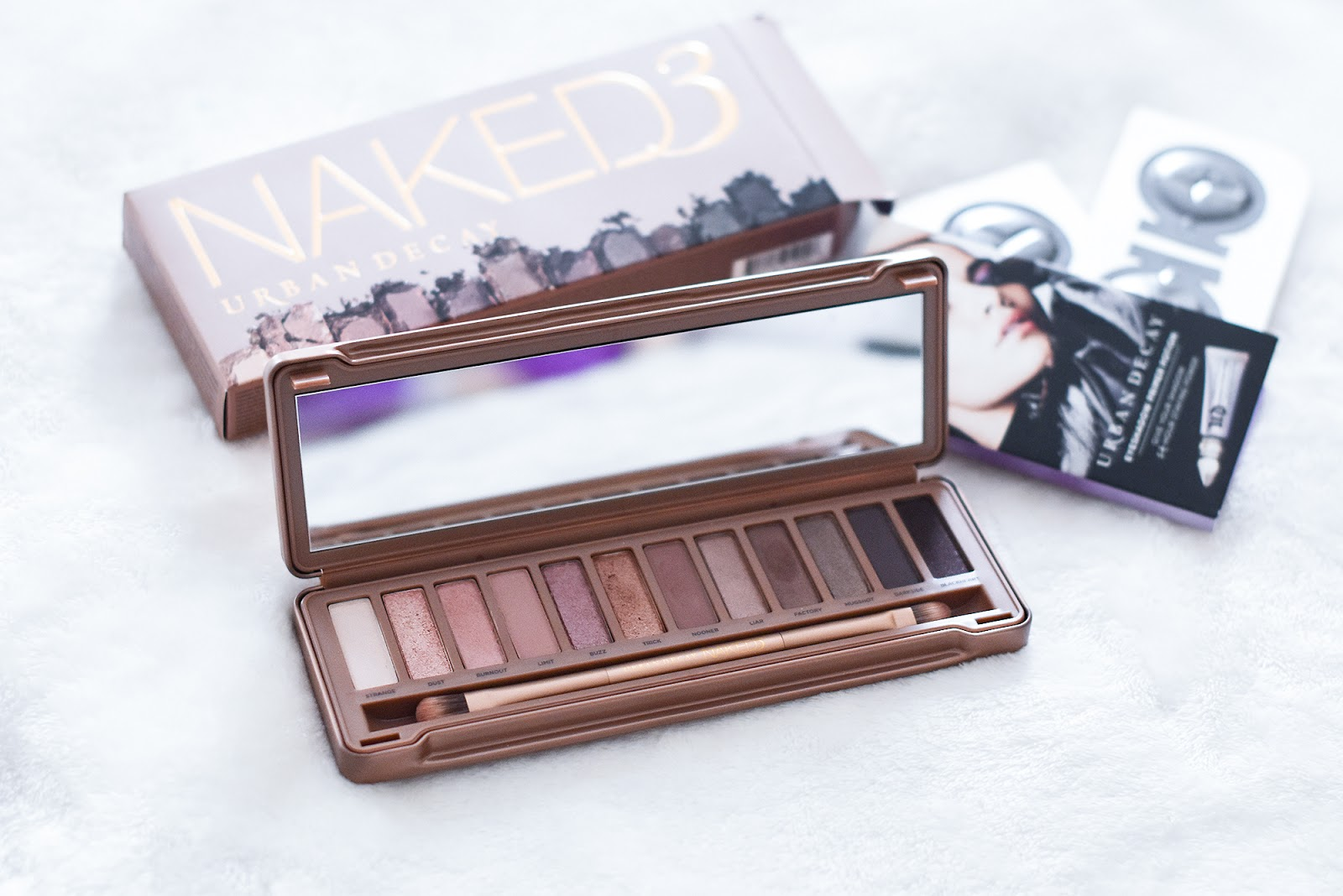 makeup,Urban Decay Naked 3 palette
