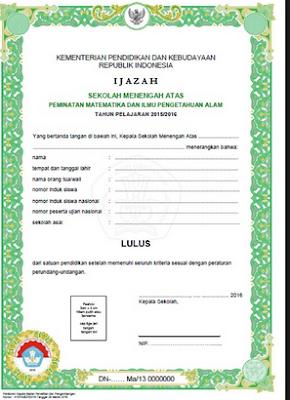 Baru !!! Surat Edaran BSNP Tentang Penandatanganan SHUN dan Ijazah