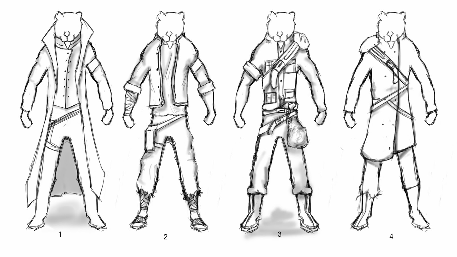 George Nwosisi Character Design Hero And Villain Costume