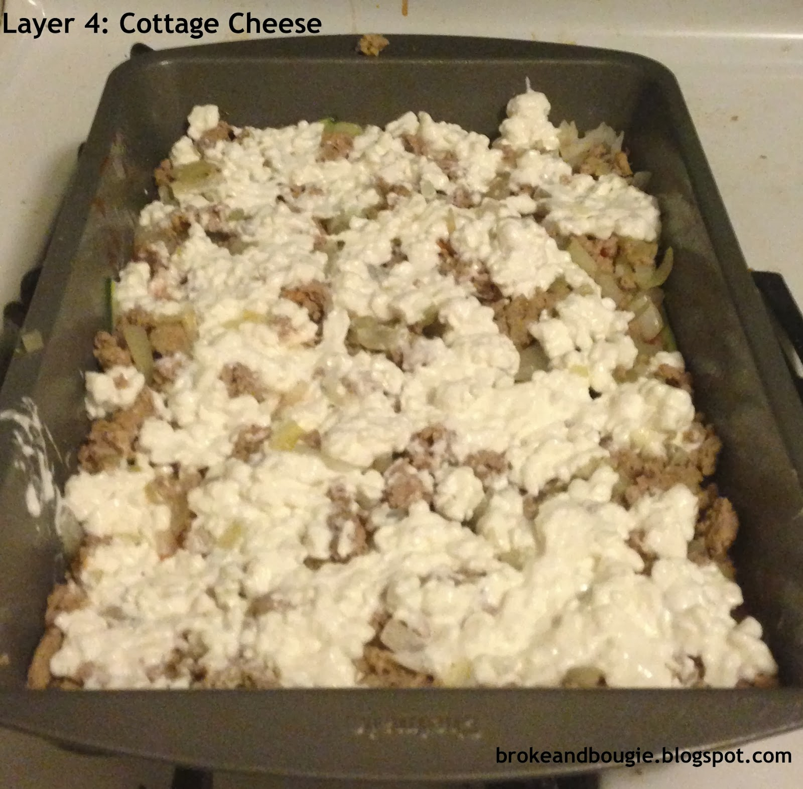 Broke And Bougie 7 Layer Clean Eating Lasagna Made With