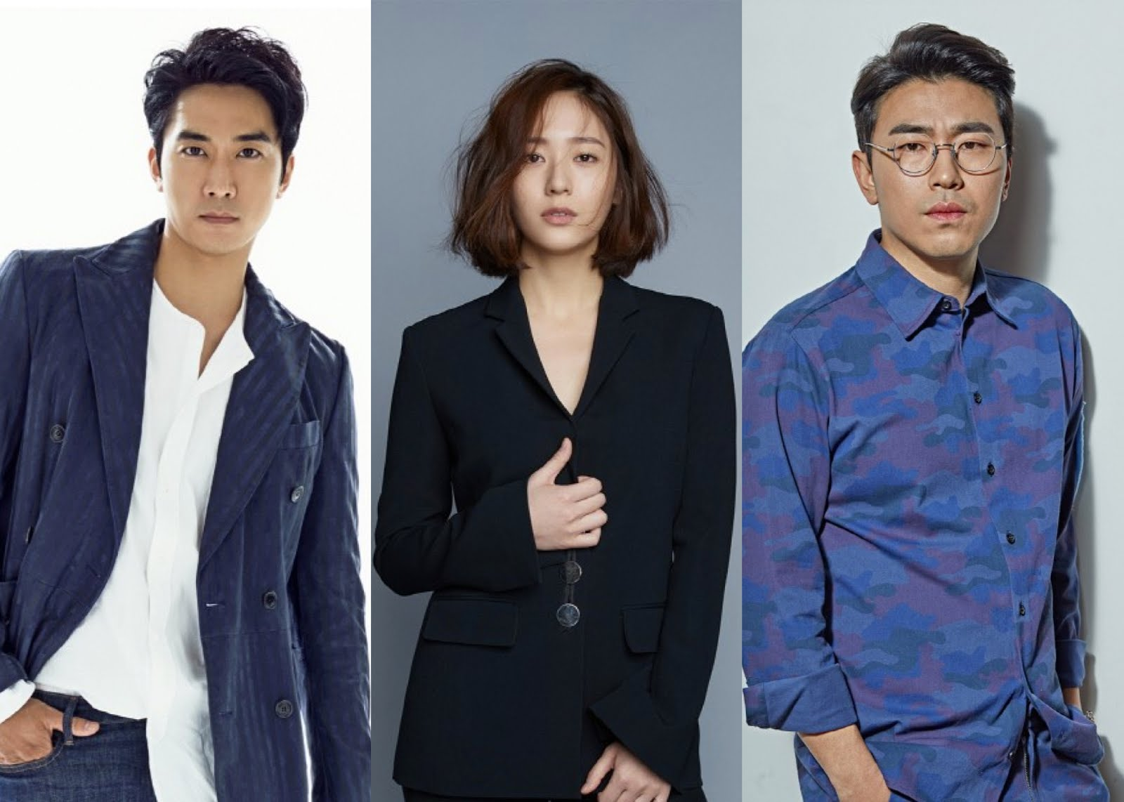 Song Seung Heon Krystal Lee Si Eon Cast In Ocns Player