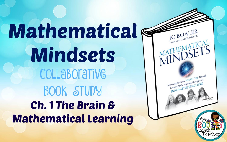 The Routty Math Teacher: Mathematical Mindsets: Chapter 1