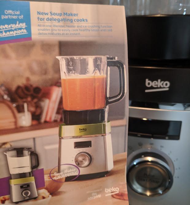 Beko Soup Maker   A Review - leaflet
