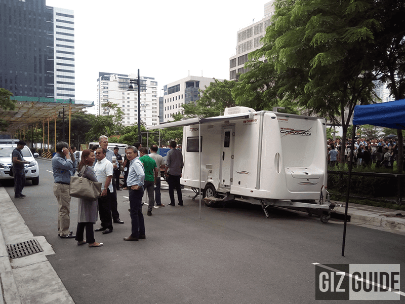 The cell site on wheels
