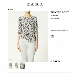 Princess Mary Style ZARA Printed Body Shirt CARLEND COPENHAGEN Bag