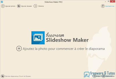 Giveaway : Icecream Slideshow Maker Pro gratuit pendant 48 heures !
