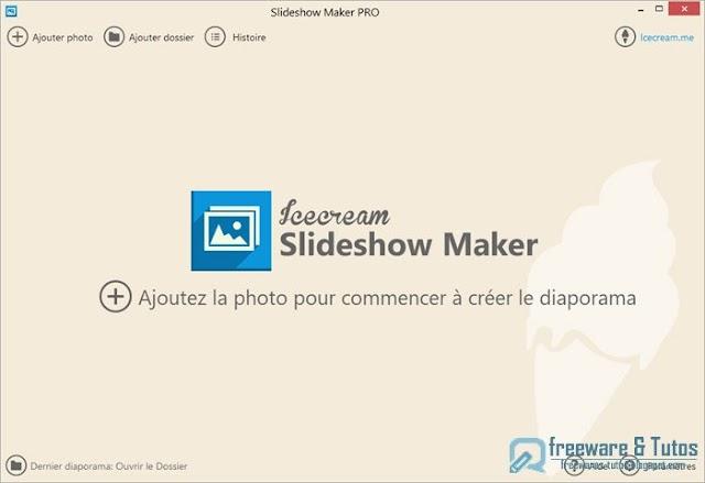 Offre promotionnelle : Icecream Slideshow Maker Pro gratuit pendant 48 heures !