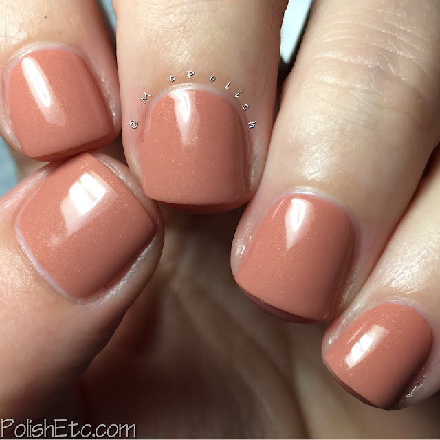 Polish My Life - Thank You For Being a Friend Collection - McPolish - Pussycat