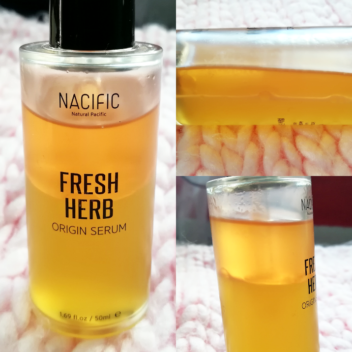NACIFIC Fresh Herb Origin Serum bottle