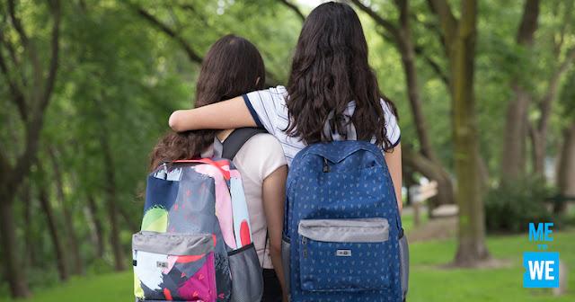 ME to WE - school supplies - backpacks