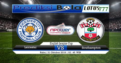PREDIKSI Leicester vs Southampton 31 OKTOBER 2018