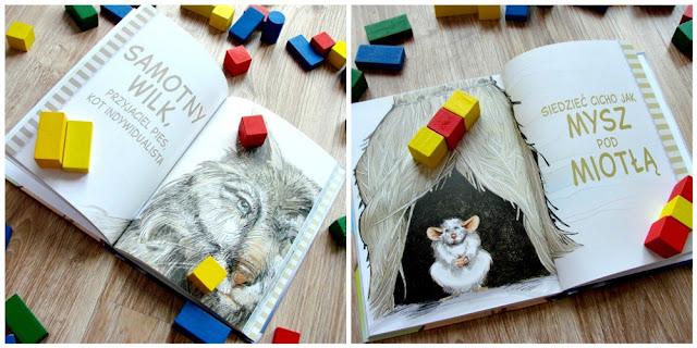 klocki dla dziecka, książka do dzieci