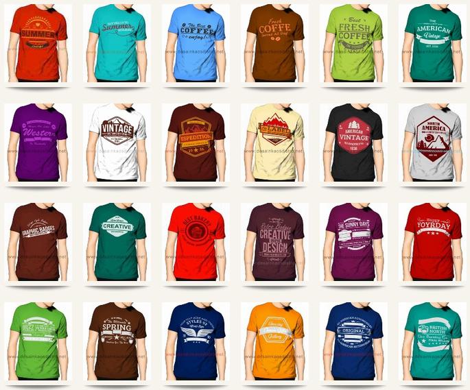 1000 Kumpulan Desain Kaos Distro buat Usaha Sablon ...