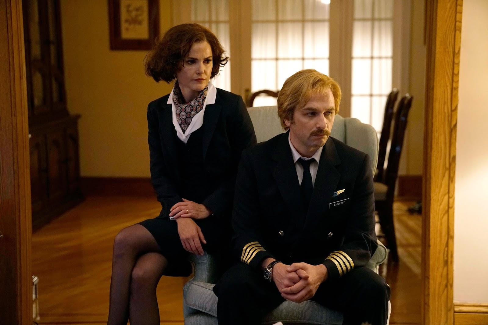 Keri Russell y Matthew Rhys en 'The Americans'