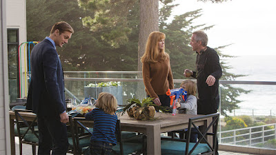 Big Little Lies Nicole Kidman and Alexander Skarsgard Set Photo (1)