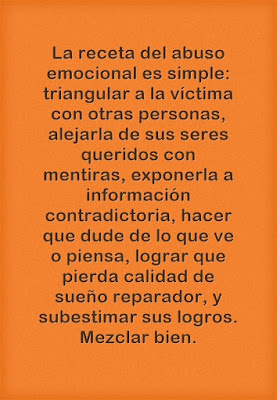 """Abuso emocional"" - Imagen"