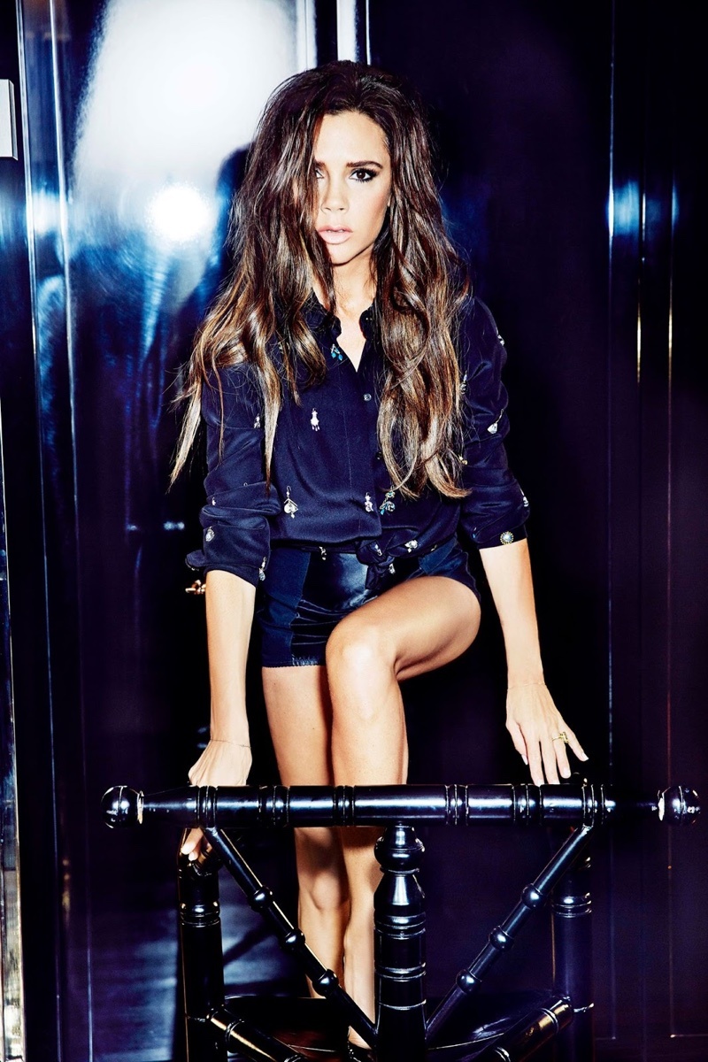 Victoria Beckham goes glamorous for Elle Hong Kong