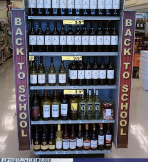 wine selection for relieved parents