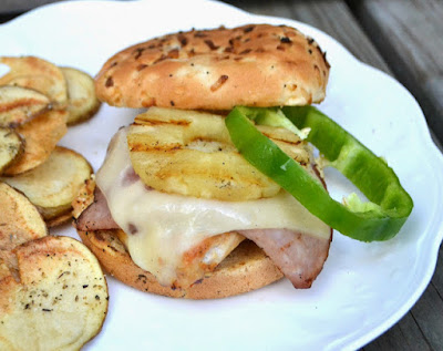 Grilling Bucket List - Grilled Chicken Cordon Bleu Sandwiches #Celebrate365