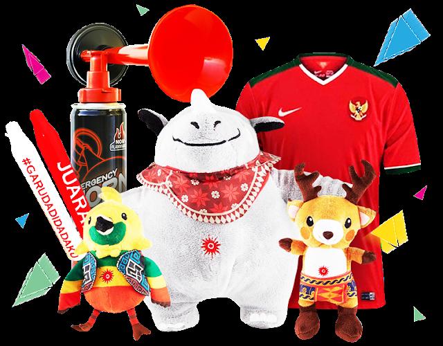 Merchandise Yang Bisa Didapatkan di Asian Games 2018