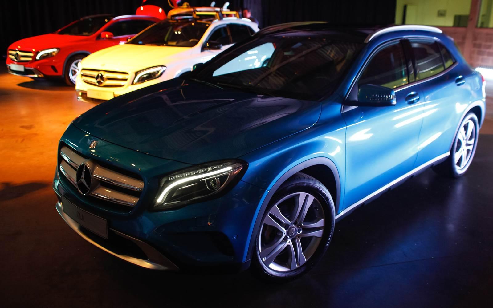 Mercedes-Benz Classe GLA 2016 Flex