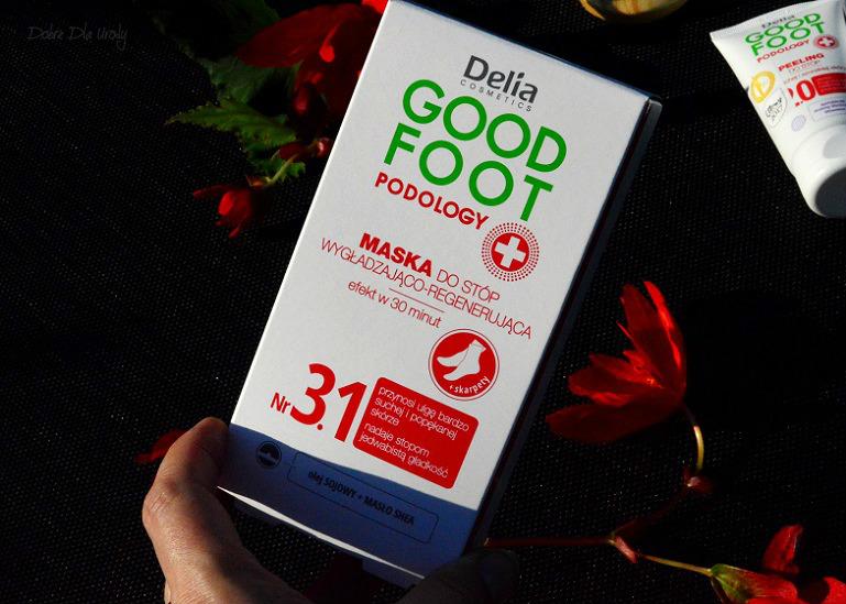 Delia Good Foot Podology Maska do stóp wygładzająco - regenerująca