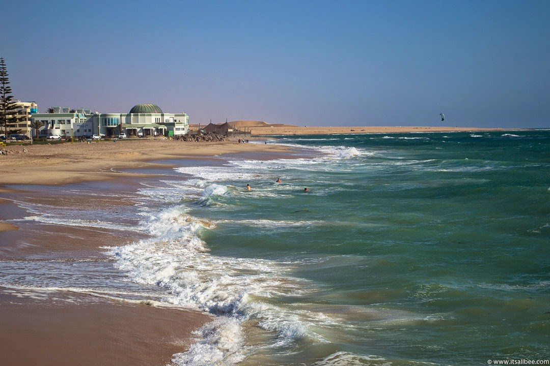 Swakopmund Beach | The Blue Hues of Namibia