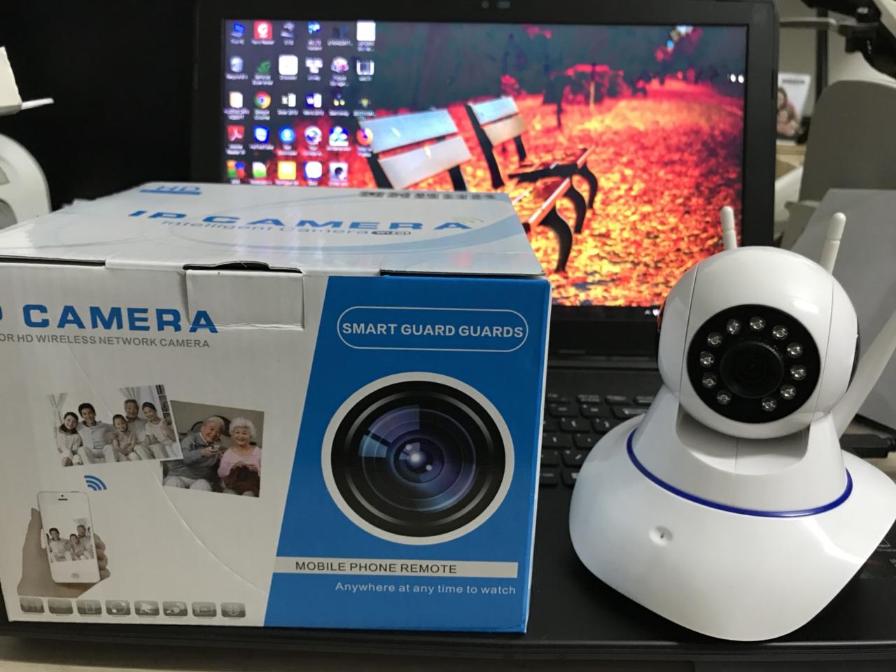 420k - Camera IP xoay 360 độ Yoosee X8100 có 3 ăng ten Z063H HỘP XANH DƯƠNG siêu nét giá sỉ và lẻ rẻ nhất