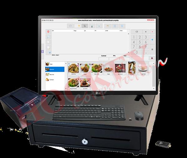 mesin kasir terbaru slim desain