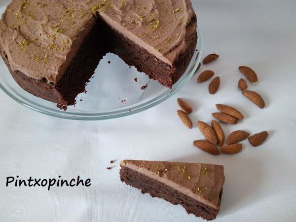 pastel, chocolate, trufa, pastel de chocolate sin gluten, lima, vainilla, postres, recetas sin gluten