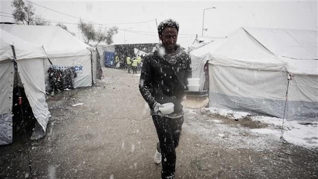 Greeks protest refugee deaths in Lesbos