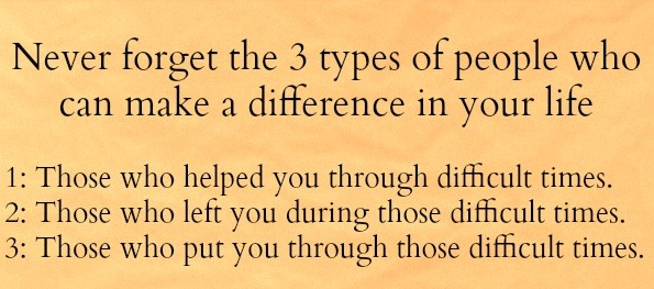 Three Types Of People Who Can Makes Difference In Your Life Life