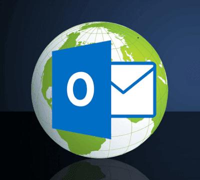 برنامج, اوت, لوك, Outlook ,on ,the ,Desktop