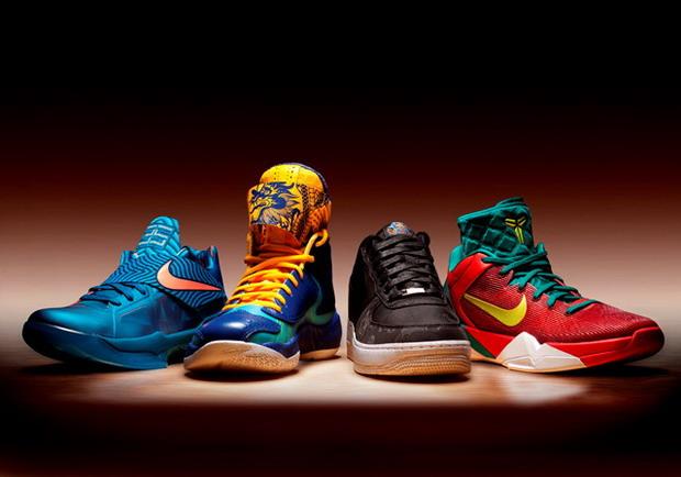 online store f45eb 0fb82 2012, Nike va lancer le Nouvel An lunaire dargent Air Force 1 Low SUPRÊME,  Air Jordan 2012, NIKE KOBE VII SYSTÈME SUPRÊME et Nike Zoom KD IV.