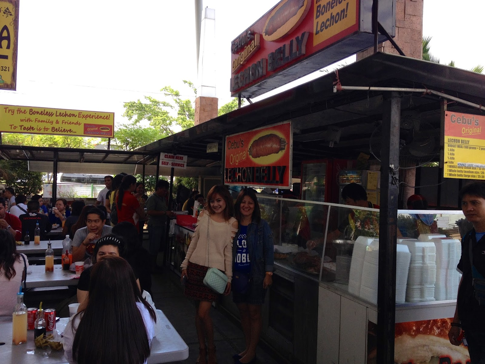 Lechon Belly Store in Parkmall Mandaue