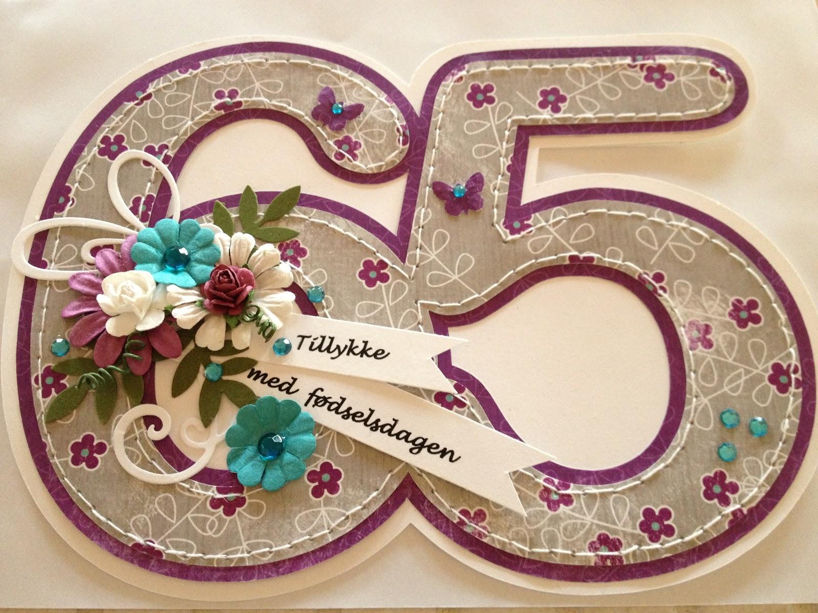 65 års fest Helle Åbyen: 65 års fødselsdag 65 års fest