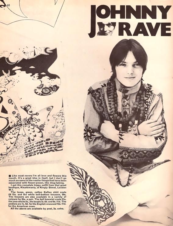 Hippie Fashion, Kleptomania Boutique, Carnaby Street Fashion 1960s book blogger
