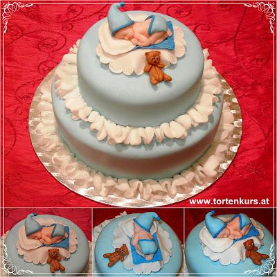 Tortenella Motivtorten Einfach Selber Gestalten Torte Baby Taufe