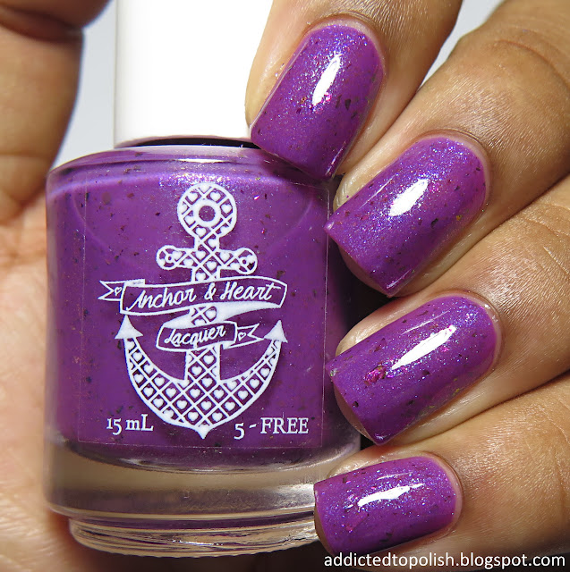 anchor and heart lacquer wherever im with you