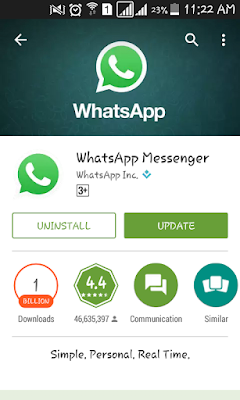 Whatsapp video call update new version