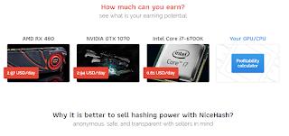 NiceHash Miner - Homepage